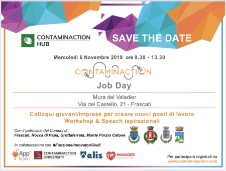 ContaminAction Job Day il 6 novembre a Frascati
